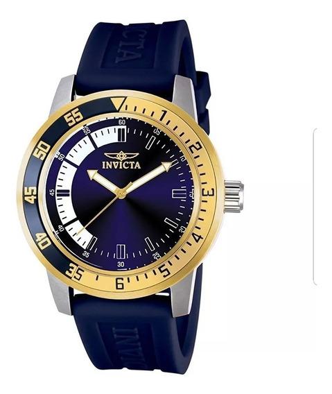 Invicta Azul Relógio Masculino 12847