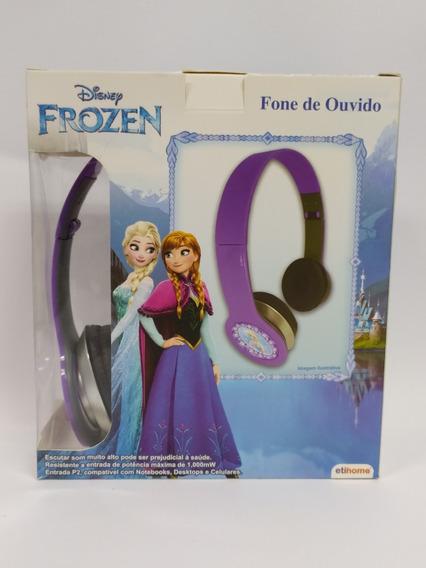 Fone De Ouvido Infantil Original Frozen - Oferta Especial.