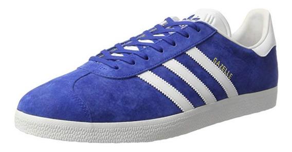 Tenis adidas Gazelle Originales Azul De Gamuza