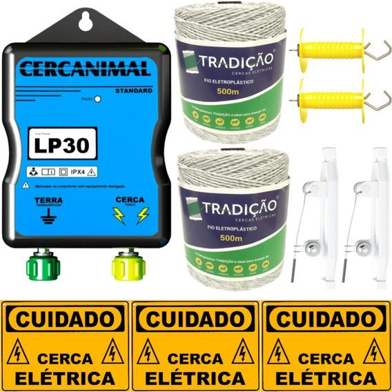 Cerca Elétrica Rural P Ovinos Equinos Suínos Kit Completo