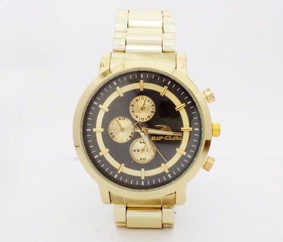 Relógio Rip Curl Dourado E Preto