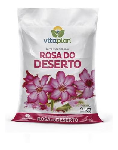 Imagem 1 de 1 de Terra Especial Para Rosa Do Deserto 2kg - Vitaplan