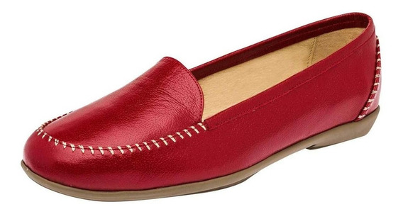 Zapato De Mujer Rojo 083-967
