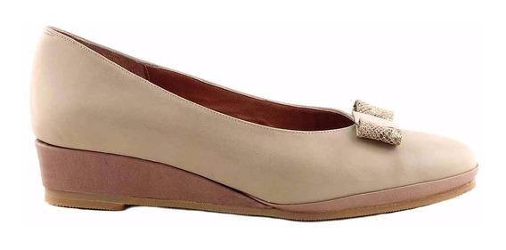 Chatita Mujer Cuero Briganti Zapato Goma - Mccha2904 Vp