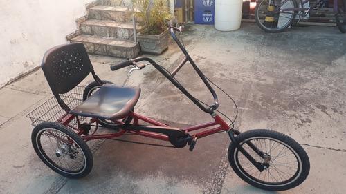 Triciclo Dream Bike Praiano Vermelho