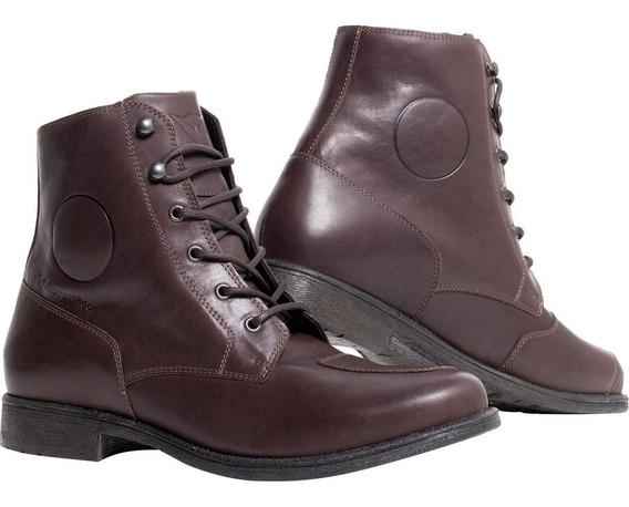 Dainese Shelton D-wp Zapatos (45) (dark-brown)