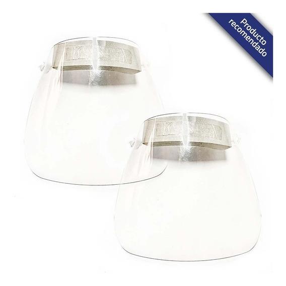 Paquete De Dos Caretas De Protección Facial Transparente