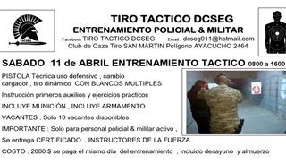 Tiro Táctico Curso Custodias Y Formación Instructor Itb