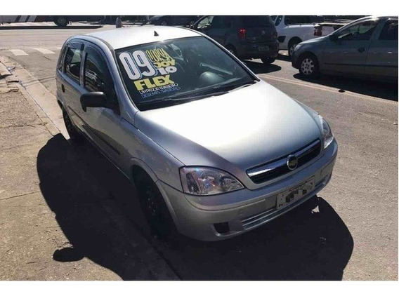 Corsa Hatch Joy 1.0 2009 (prata) (flex)