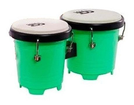 Mini Bongo Dadi 5 - 5.75 Plastico Verde