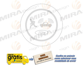 Adesivo Do Alarme Veículos Ford Para Janelas ( Mira Design )