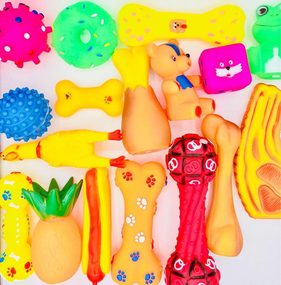 Kit 6 Mordedores Brinquedos Para Cachorros Cães Promoção