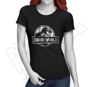Camiseta Films - Jurassic World - Películas Mujer