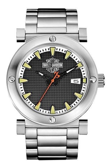 Reloj Harley Davidson Original Para Hombre 76b165