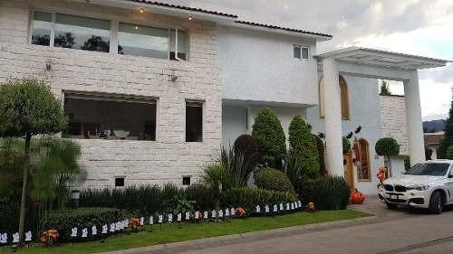 Lomas Axiomatla, Espectacular Casa Con Alberca Techada En ¨la Cima¨