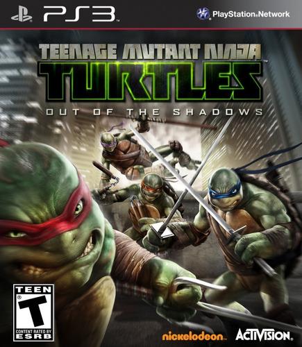 Tortugas Ninja Turtles Out Of The Shadows Juego Ps3 Original