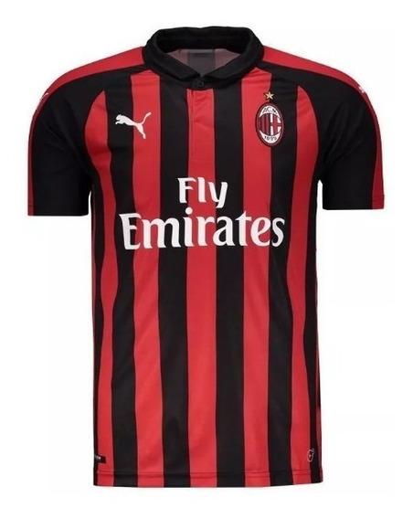 Camisa Milan Modelo Novo 19-20 ( Pronta Entrega )
