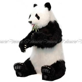 Urso Panda 130cm Pelúcia Grande Decorativo Uma Graça Impecav