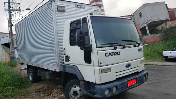Ford Cargo 815 Baú Ano 2009