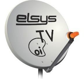 Seis Antenas Parabólica 60cm Banda Ku Oi Tv