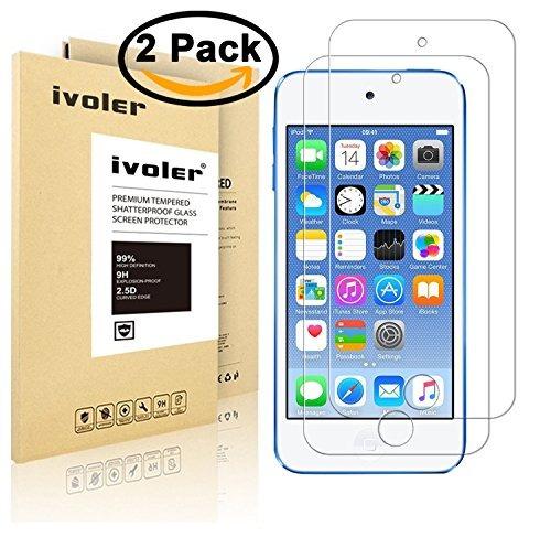 Protector Pantalla Ivoler 2 Paquete Vidrio Templado iPod Toq