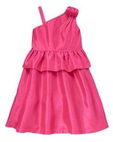 Vestido Gymboree Importado Menina 5 E 6 Anos Tafetá