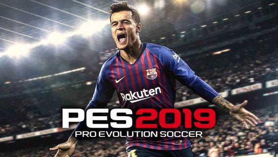 Pro Evolution Soccer 2019 + 2 Jogos Pc - Dvd