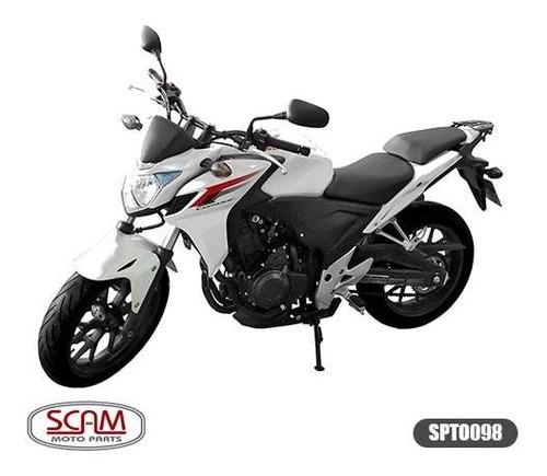 Imagem 1 de 3 de Suporte Baú Superior Honda Cb500f 2014-2015 Spto098 Scam