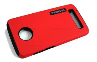 Funda Case Moto E5, E5+ G6 Plus Play Z2 Play + Mica Cristal