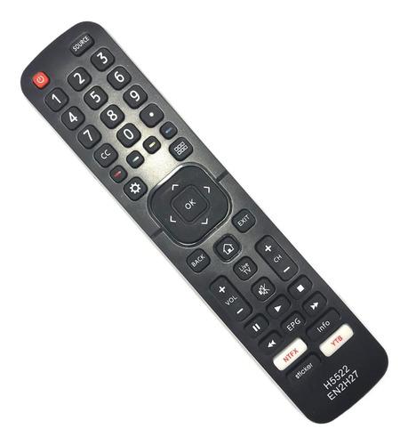 Control Remoto Smart Tv Led  Noblex Hisense Philco En2h27