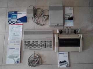 Computadora Commodore 128 Con Perifericos Y Manuales