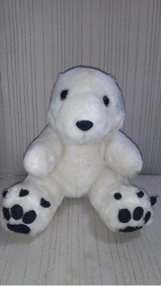 Urso/ursinho Polar/bichinho Pelucia Parmalat Sem Caixa