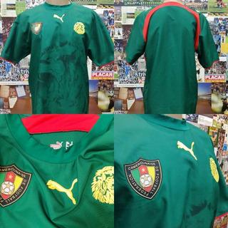 Camisa Camarões - Puma - S/nº - 2005/2006 - G
