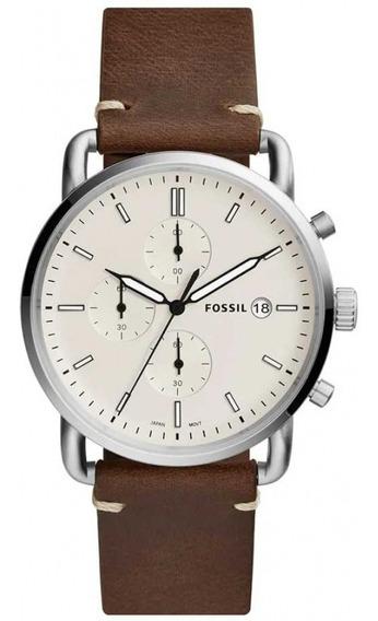 Relógio Fossil Masculino Commuter Fs5402/0mn