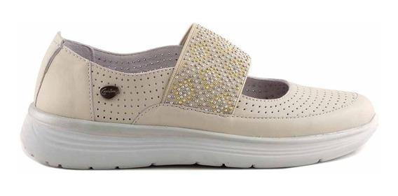 Zapato Cuero Cavatini Zapatilla Confort Goma Negro Mccha2977
