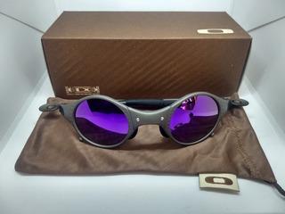 Oculos Oakley Mars Xmetal Lente Roxa Penny Juliet 24k Romeo1