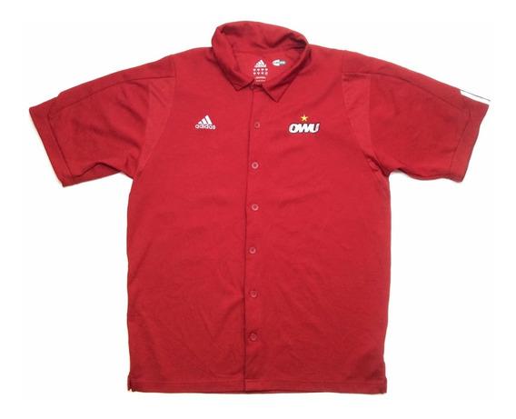 Chomba Camisa adidas Baseball Manga Corta Climacool Talle M
