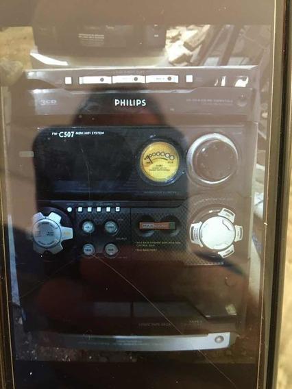 Cd Player Philips C507 Mod.fwc507/19 Inteiro Ou Em Peças