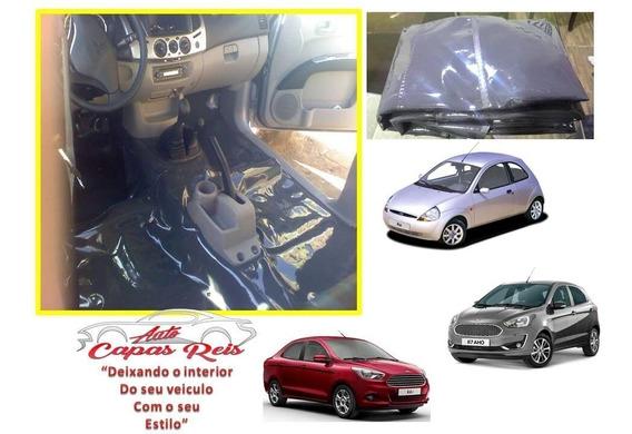 Carpete Verniz 0.70 Assoalho+pta Malas Ka Sedan / Hatch