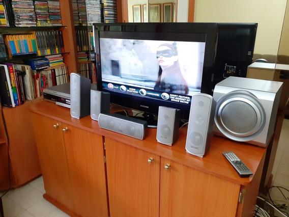 Dvd Home Theater Panasonic 5.1 Tipo Rocola De 5 Dvd