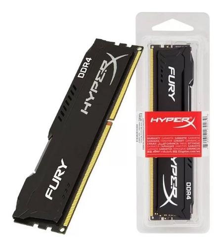 Memória Hyperx Fury 16gb 3200mhz Ddr4 Hx432c16fb/16