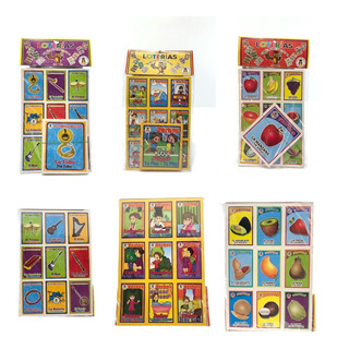 Juguete Economico 12 Set Loteria Didacticas Elige Buho