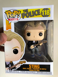 Funko Pop The Police Sting #118 Original Rock