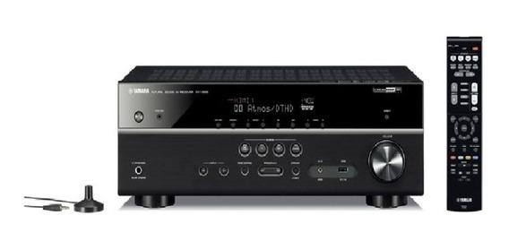 Receiver Yamaha Rx V385bl Av De 5.1 Ch Com Bluetoo C/ Nf