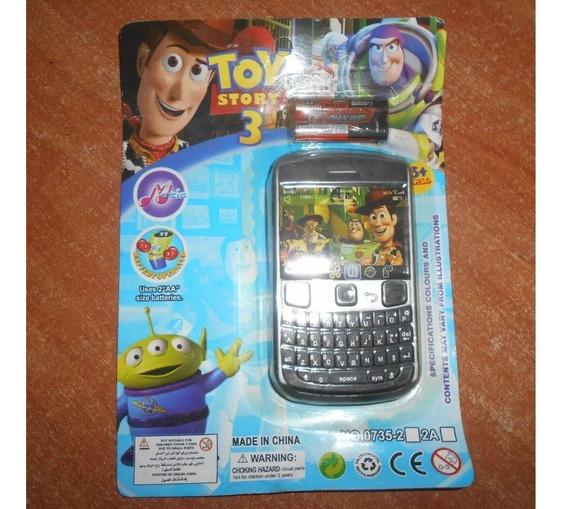 Celulares Teléfono Juguete Toy Story Sin Pilas Leer Descripc