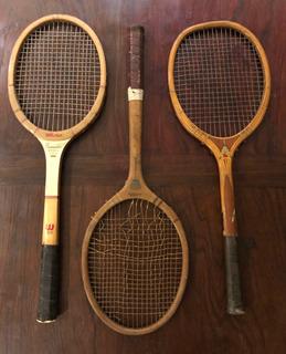 Raquetas Tenis Vintage X 3
