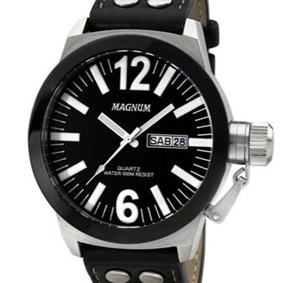 Relógio Magnum Masculino Military Ma31533c Com N. Fiscal