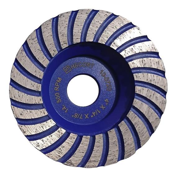 Copa Diamante Azul 4 Pulg Desbaste Marmol