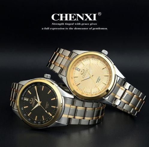 Relógio Masculino Chenxi Pulseira Aço Inox 30m Prova D