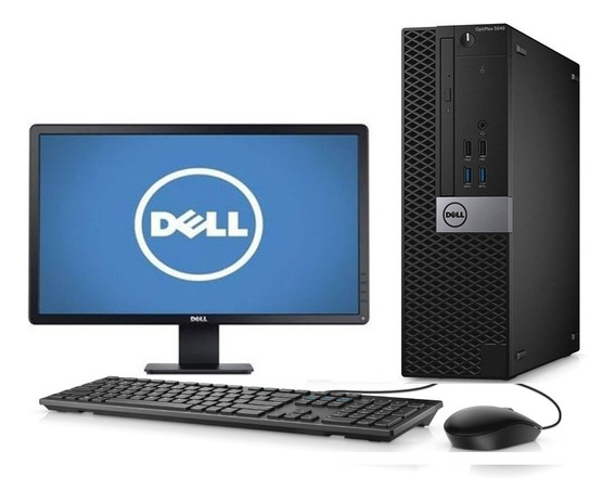 Cpu + Monitor Dell 5040 Core I5 6ger 8gb 500gb - Novo